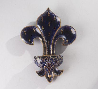 France, fin du XIXe siècle - faïencerie Sainte...