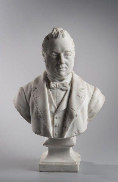 France, fin du XIXe siècle  Buste du Président...