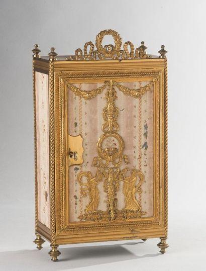 Portugal, fin du XIXe siècle  Armoire miniature...