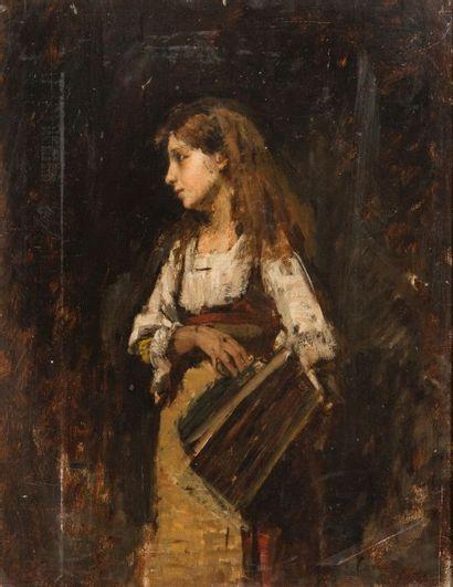 Attribué à Auguste BOULARD  (XIXème siècle)...