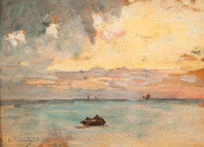 Gustave LE SENECHAL DE KERDREORET  (1840-1920)...