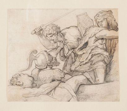 Théodore GERICAULT (1791-1824)  Etude d'après...