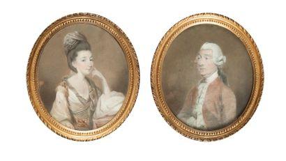 Daniel GARDNER  (Kendal 1750 – 1805)  Portrait...