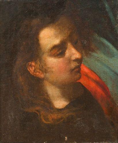 Ecole ITALIENNE du XVIIe siècle  Figure de...