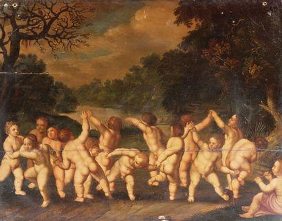 Ecole FLAMANDE du XVIIème siècle, entourage...