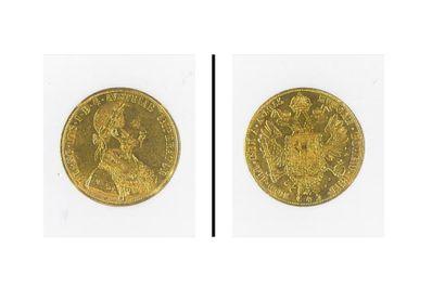 Pièce or autrichienne 1915 (4 ducats)