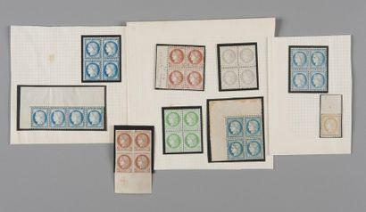 France, Cérès dentelé - Lot de timbres neuf...