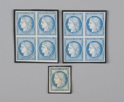 Colonies Générales n° 23 25c Bleu - Deux...