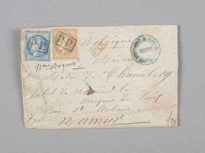 France - Lettre Guerre de 1870. - Armée du...