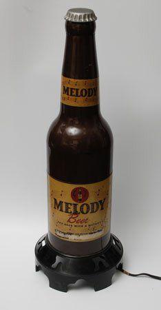 MELODY BEER RADIO Rare poste de radio publicitaire...