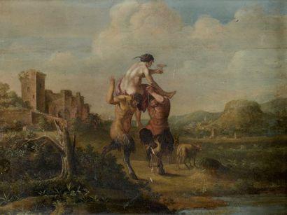 École HOLLANDAISE vers 1640,