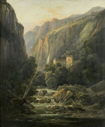 Attribué à Jean Joseph Xavier BIDAULT (1758-1856)
