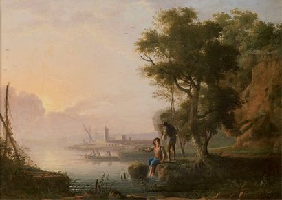 Attribué à Jean Baptiste Charles CLAUDOT (1733-1805)