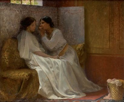 Paul Hippolyte FLANDRIN (Paris 1856-1921)