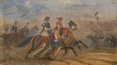 Charles De LUNA (Actif au XIXe siècle)