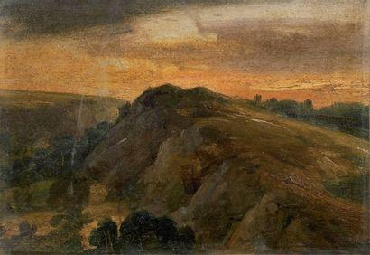 Théodore ROUSSEAU (Paris 1812-Barbizon 1867)