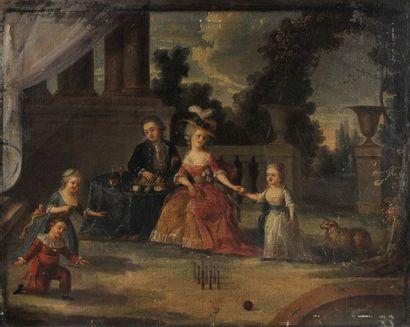 École FRANÇAISE vers 1780