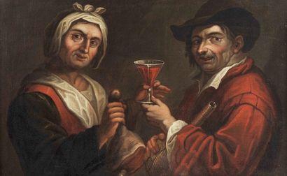 École ITALIENNE du XVIIIe siècle, entourage de Giacomo Francesco CIPPER dit IL TODESCHINI