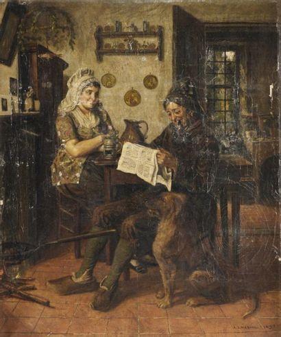 Adrien Jean MADIOL (Groningen vers 1845 - vers 1892)