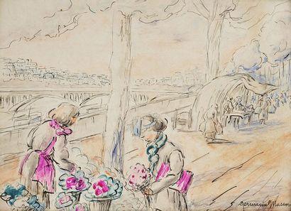 Germaine MASSON (Fin du XIXe - début du XXe siècle)
