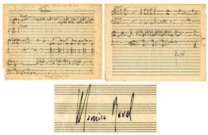 RAVEL Maurice [Ciboure, 1875 - Paris, 1937], compositeur français.