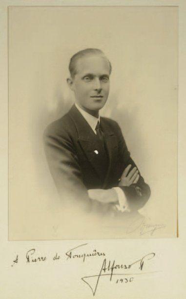 ALPHONSE XIII (né Alfonso León Fernando María Jaime Isidro Pascual Antonio de Borbón)