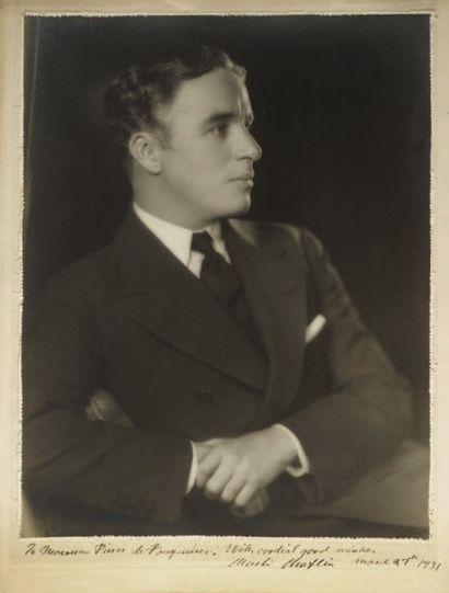 CHAPLIN Charlie (Charles Spencer, dit) [Londres, 1889 - Vevey, 1977]