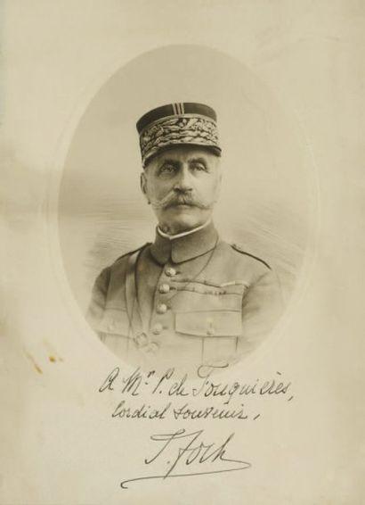 FOCH Ferdinand [Tarbes, 1851 - Paris, 1929], maréchal de France.