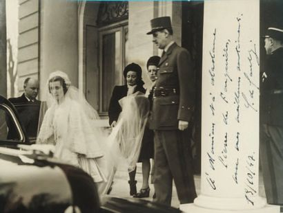 GAULLE Charles de [Lille, 1890 - Colombey-les- Deux-Églises, 1970], homme d'État et général français