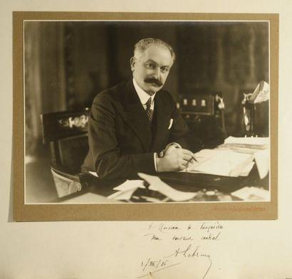 LEBRUN Albert [Mercy-le-Haut, 1871 - Paris, 1950], homme d'État français et président de la Républiq