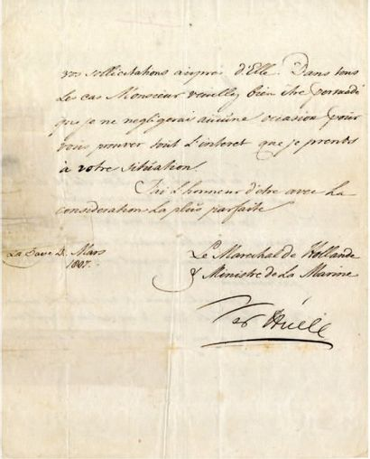 VER HUEL Karel Hendrik [Doetinchen (Pays- Bas), 1764 - Paris, 1845]