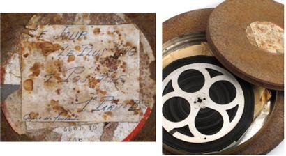 """Deux bobines 16 mm du """"making-of"""" du film Le jour le plus long. Interpositifs, copies..."""