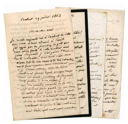 LABICHE Eugène [Paris, 1815 - id., 1888], auteur dramatique français. Ensemble de...