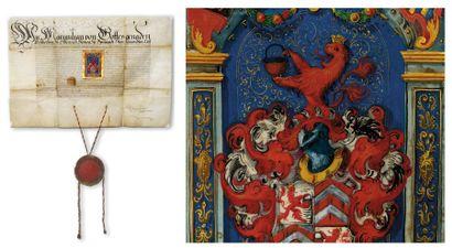 MAXIMILIEN III de Habsbourg [Wiener Neustadt en Autriche, 1558 - Vienne, 1618]