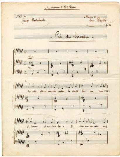 BEYDTS Louis [Bordeaux, 1895 - Caudéran, 1953], compositeur.