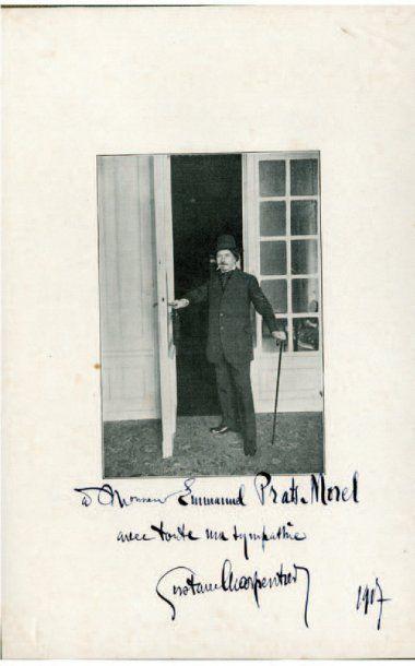 CHARPENTIER Gustave [Dieuze, 1860 - Paris, 1956], compositeur français.