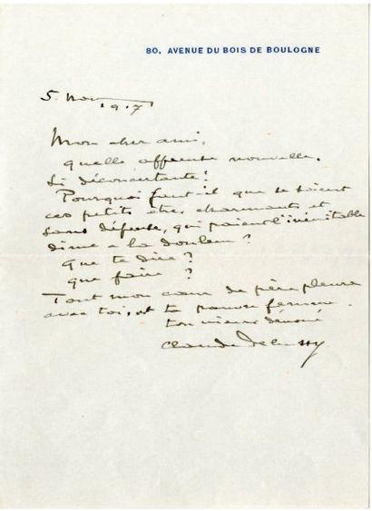 DEBUSSY Claude [Saint-Germain-en-Laye, 1862 - Paris, 1918], compositeur français.