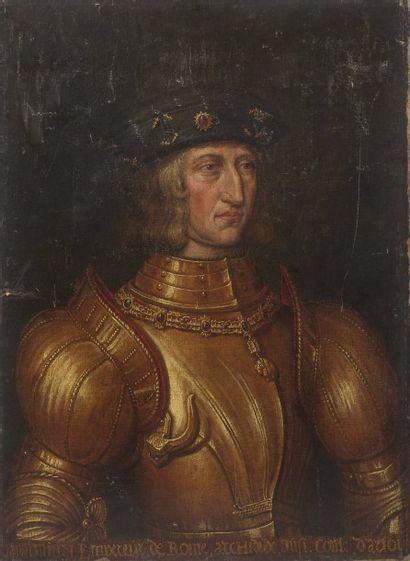 ECOLE FRANÇAISE du XVIIe siècle  Maximilien...