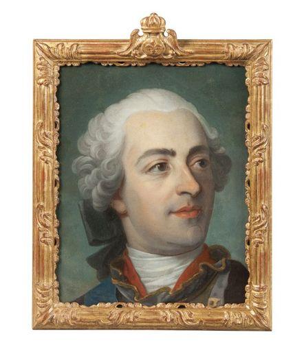 ECOLE FRANCAISE, circa 1750  Louis XV roi...