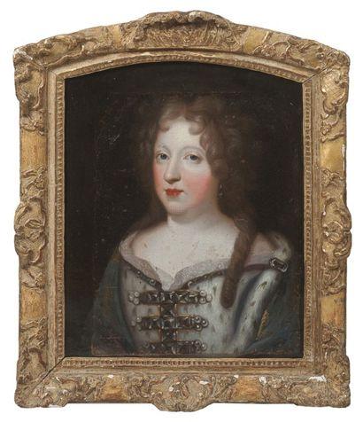 ECOLE FRANÇAISE du XVIIème siècle  Portrait...