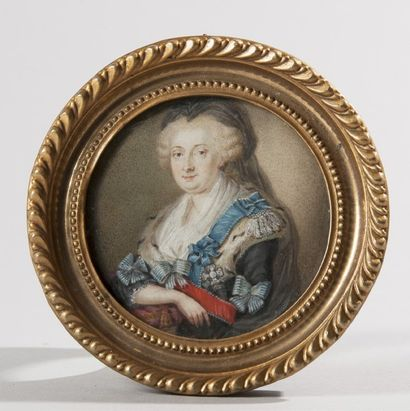 ECOLE ALLEMANDE, fin du XVIIIe siècle  Marie-Anne...