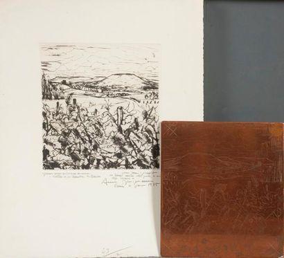 André JACQUEMIN (1904-1992)  Vallée de la...