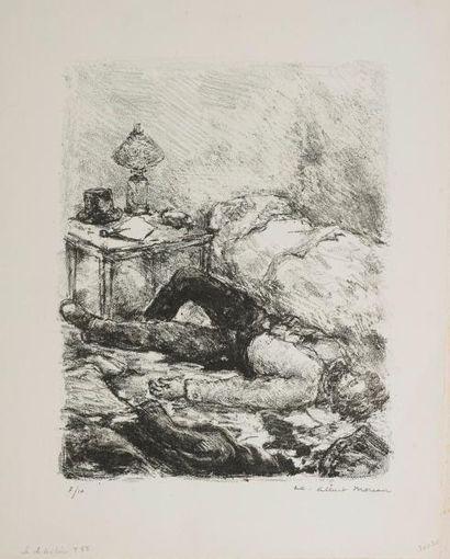 Luc Albert MOREAU (1882-1948)  Le Désespéré...