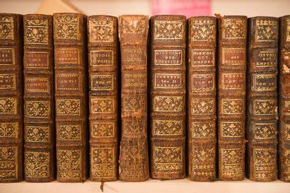 Ensemble de volumes dépareillés du XVIIIe...