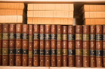 Ensemble de volumes XIXe et modernes.
