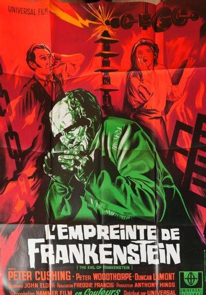 L'empreinte de Frankenstein de Freddie Francis...
