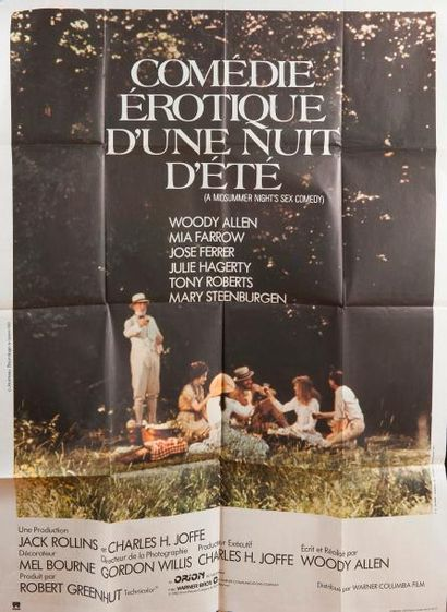 Cinéma / USA, 7 affiches 120 x 160 cm Darling...