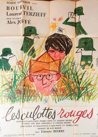 Les culottes rouges, de Alex Joffé avec Bourvil...