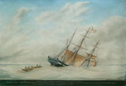 Mathieu-Antoine ROUX, dit Antoine ROUX fils aîné (1799-1872) « EMILE-FERNAND » Grande...