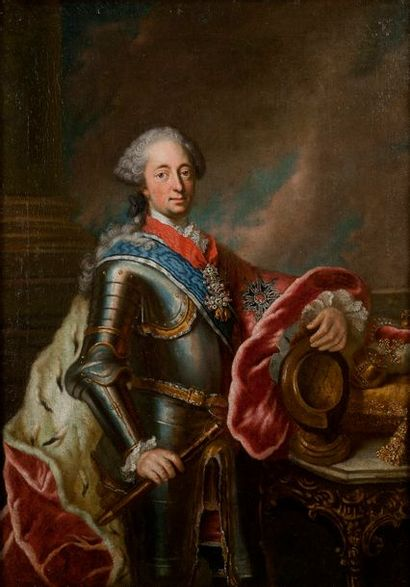 ECOLE ALLEMANDE, CIRCA 1750 Maximilien III...